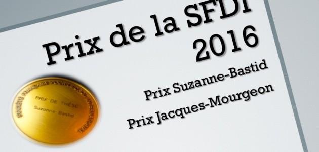 SFDI PRIX 2016